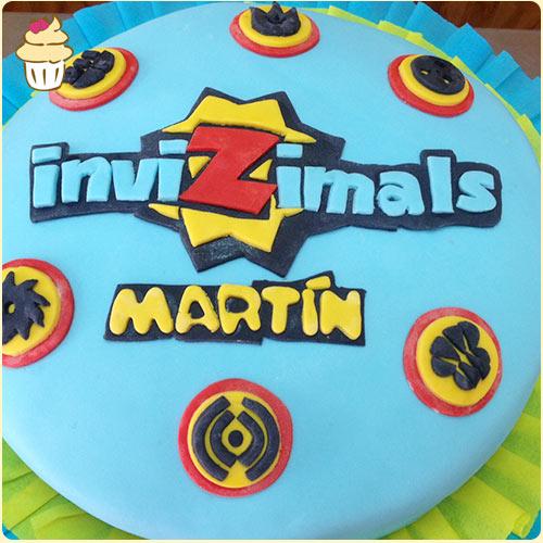 Torta Invizimals